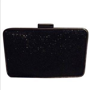 Michael Kors Elsie crystal black clutch